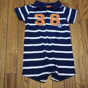 just one you collared romper size 18m